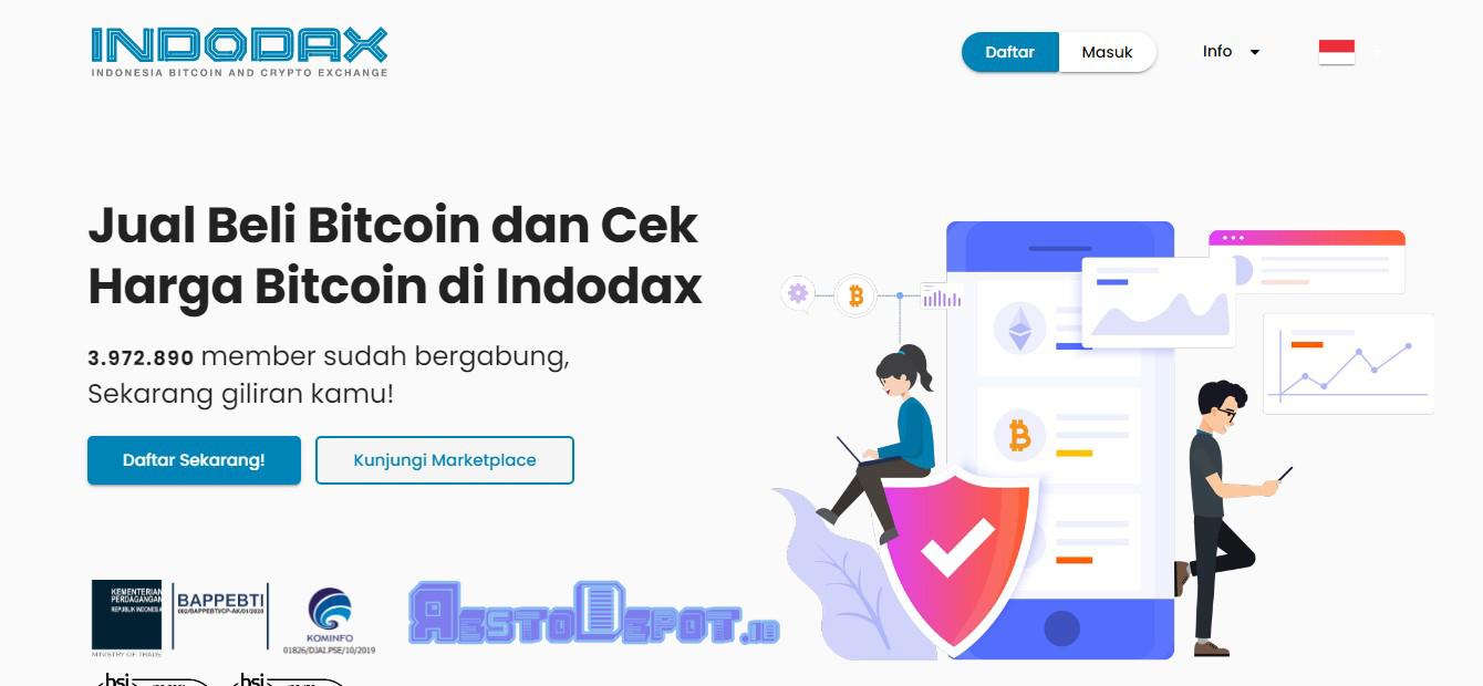Cara Trading Crypto Di Indodax