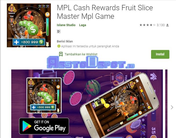 MPL Cash Reward Fruits Slice