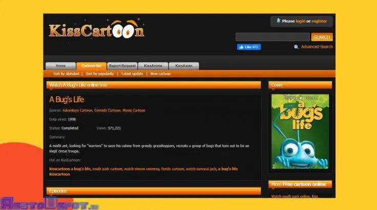 Cara Menonton Kartun Di Aplikasi Kisscartoon