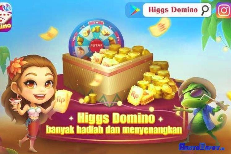 menggunakan higgs domino mod apk