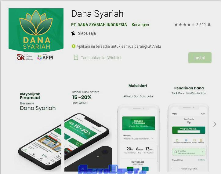 Dana syariah aplikasi penghasil uang