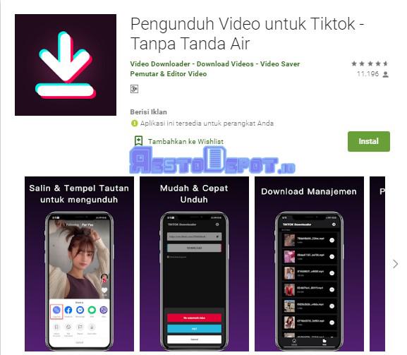 Download Video TikTok Tanpa Watermark 2021
